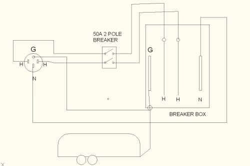 small resolution of 50 amp service upgrade done page 3 airstream forums 50 amp rv schematic wiring