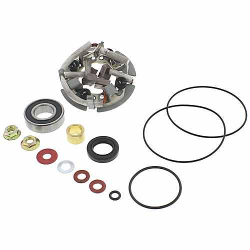 Starter Motor Repair Kit With Holder Arrowhead For Suzuki