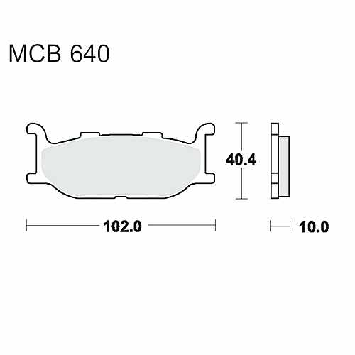 Scooter Brake Pads Sintered Srm TRW For Yamaha XP 500 Tmax