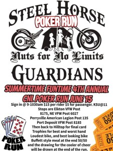 SUMMERTIME FUNTIME 4TH ANNUAL CNL POKER RUN