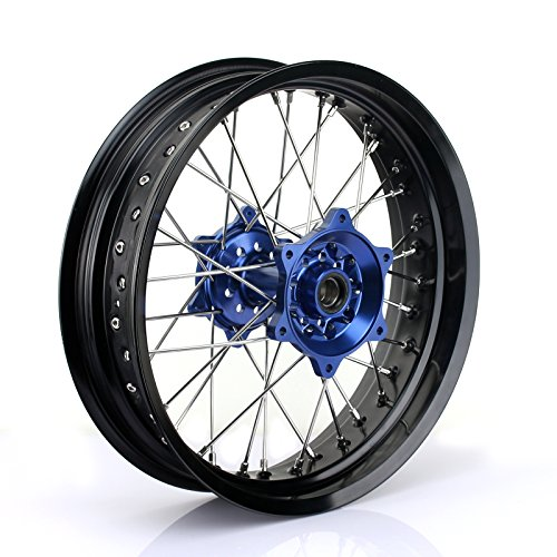 Protrax Stainless Steel Spoke Set Front 21 inch
