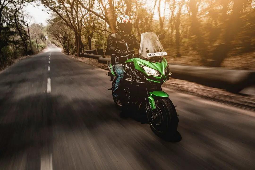 kawasaki - solo motorcycle touring