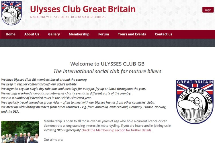 ulysses club gb - touring motorcycle clubs