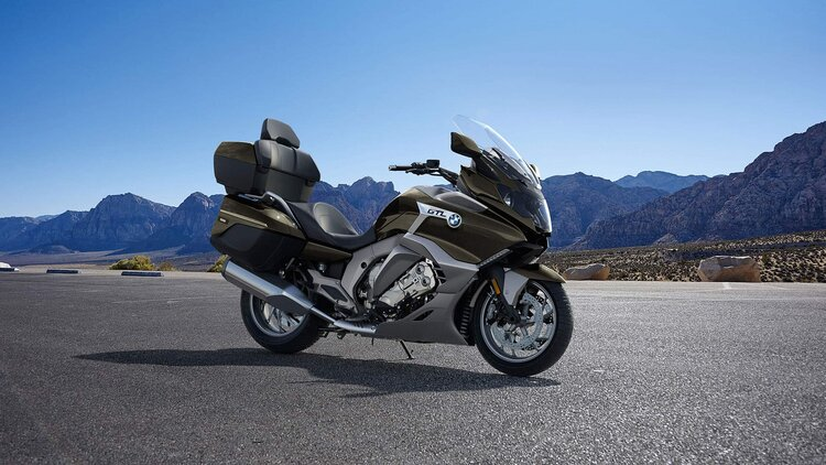 bmw k 1600 gtl - most comfortable touring motorcycles