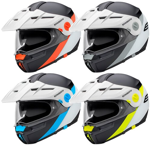 Schuberth E1 adventure motorcycle helmet