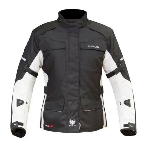 merlin aurora women's textile motorcycle jacket