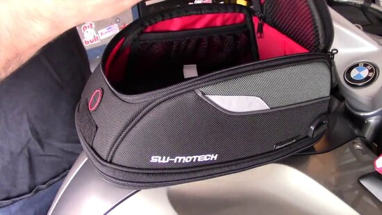 sw motech evo tank bag day pack