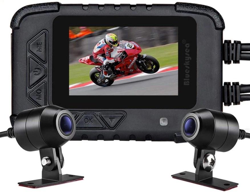 blueseasky dv688 motorcycle touring dashcam