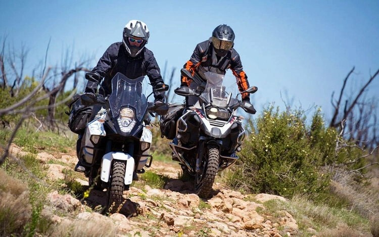 adventure bike tyres