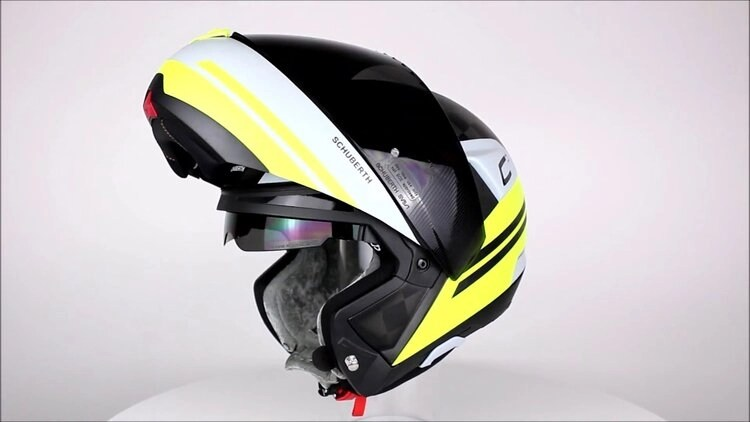 quietest motorcycle helmets by schuberth