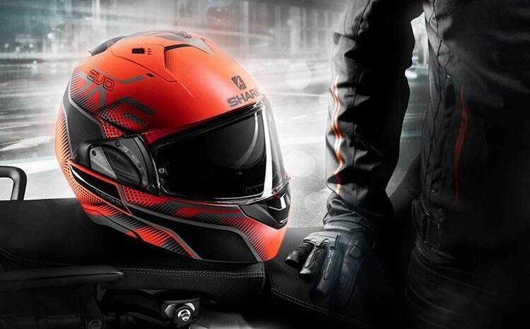 shark modular - quietest motorcycle helmets