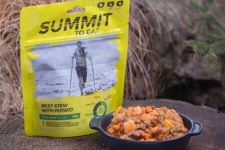 summit to eat beef and potato stew