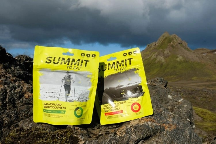 summit to eat motorcycle camping food