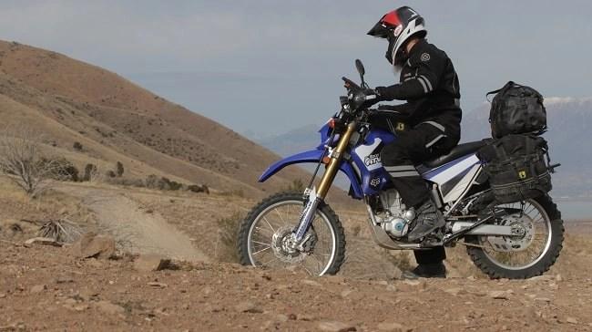 yamaha wr250 on trails