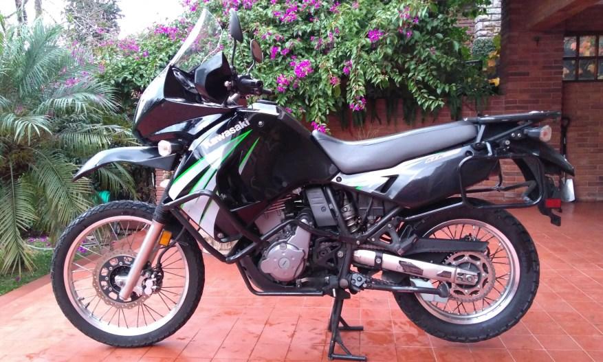 kawasaki klr650 - best motorcycles to tour around the world