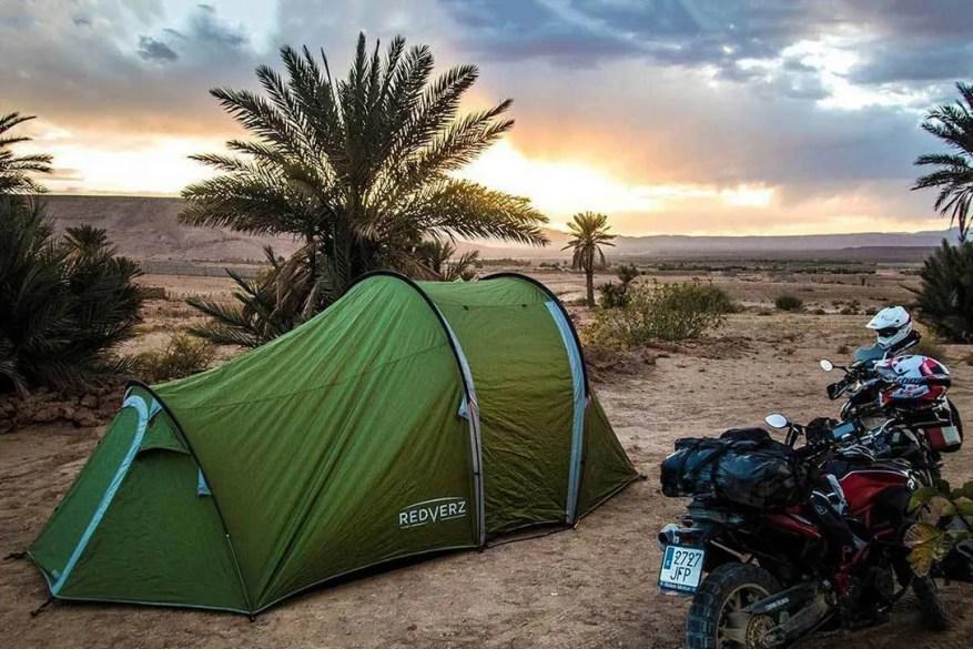 wild camp - motorcycle camping sleeping bag