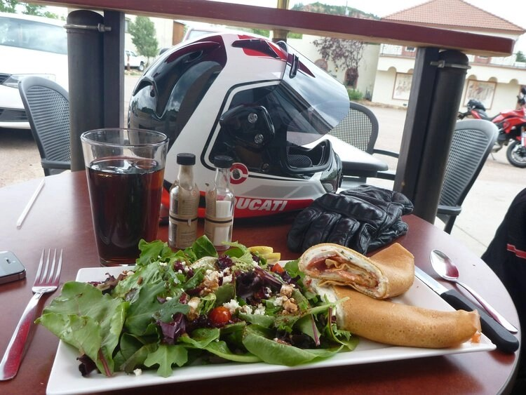 eating well - riding motorcycles and mental health