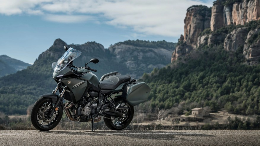 yamaha tracer 7 gt - lightest touring motorcycles
