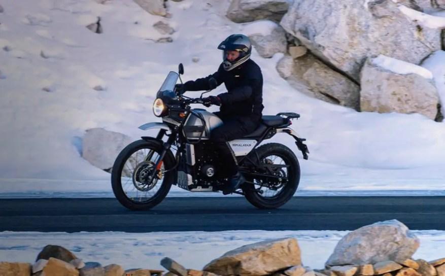 Royal Enfield A2 adventure bikes