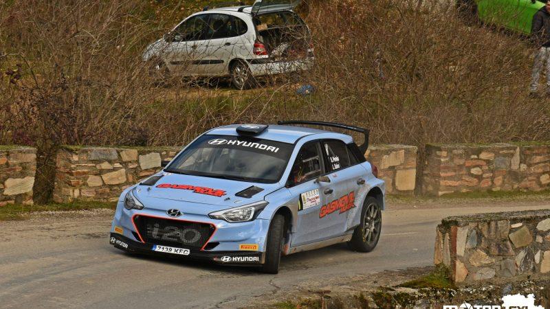 Surhayen Pernía lidera Castilla y León con victoria en el Rallye del Bierzo