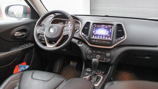 jeep cherokee interieur