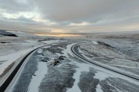 island straße winter