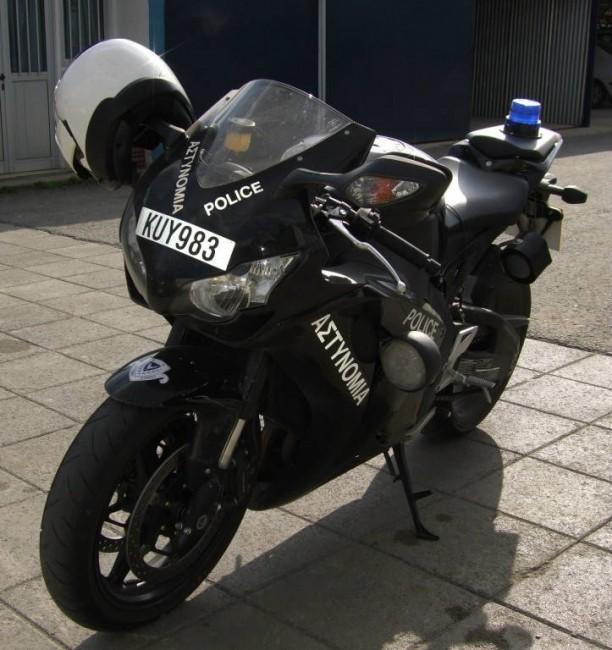 politiemotor Honda CBR fireblade