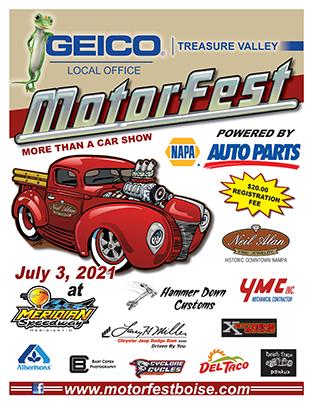 Motorfest 2021 Event Flyer