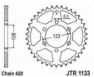 Aprilia RS4 50 Kettenrad