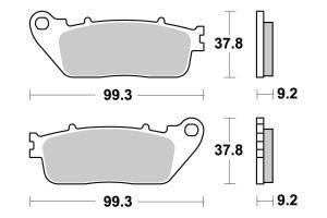 Honda CB-1 400 Bremsbeläge