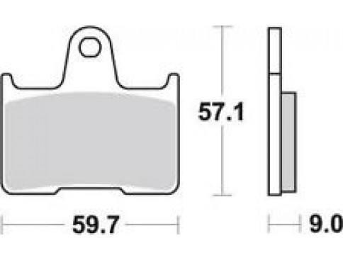 Suzuki GSX-R 600 Bremsbeläge
