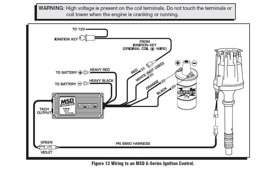 Msd Hvc 6600 Wiring Diagram MSD Distributor Parts Diagram • Free ...