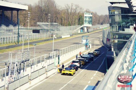 Monza Trackday : les stands avant le roulage