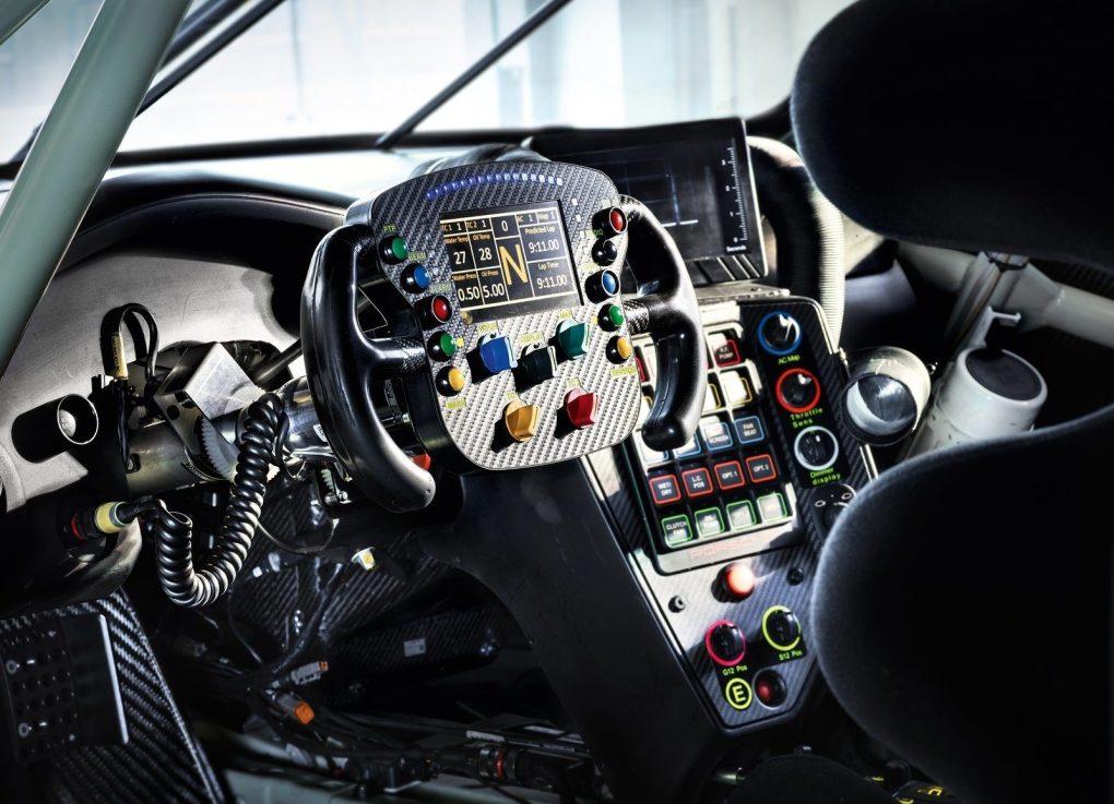 Porsche RSR Interior