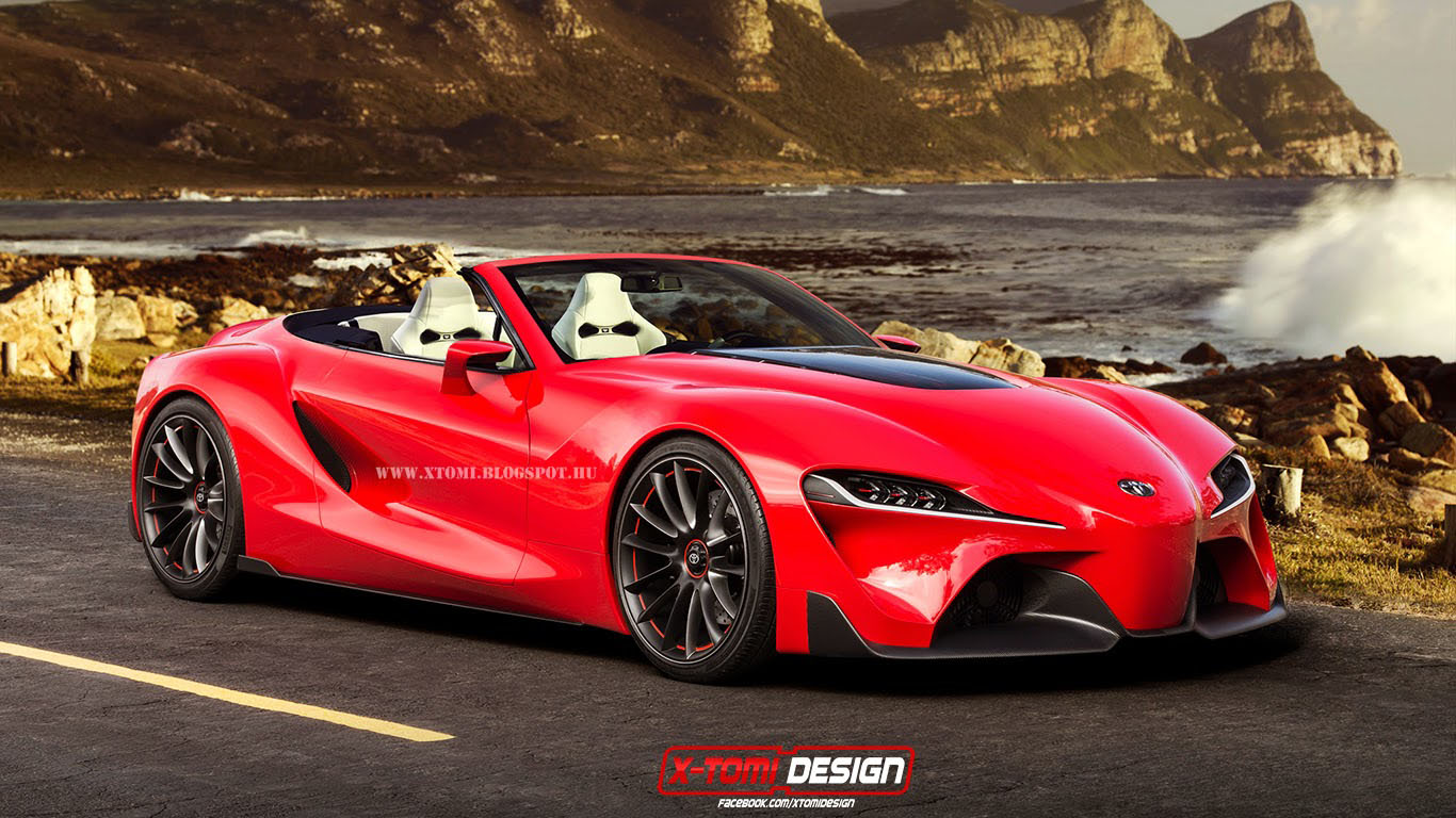 Toyota FT-1 Convertible