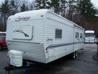2003 Sprinter Travel Trailer Rear Living Room Travel Trailer