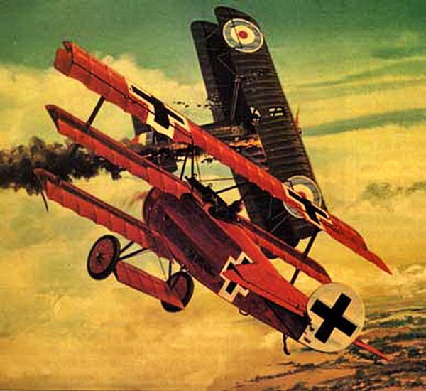 Fokker-Dr-1-dogfight