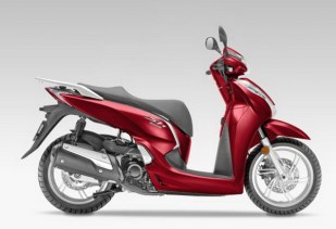 SH300i_Scooter_2015 Pearl Siena Red 2
