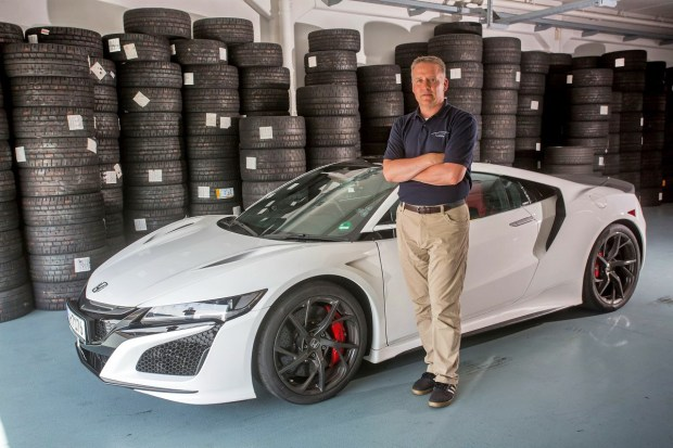 """Its like finding your perfect dance partner"" Honda engineer Ted Klaus gives an insight into the genesis of the new NSX"