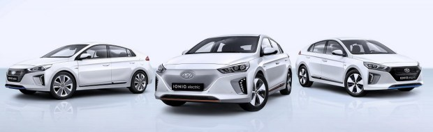 All-New IONIQ line-up