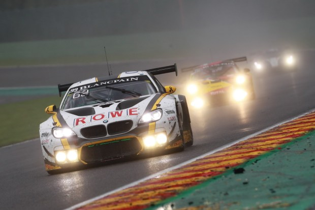 28.07.2016 to 31.07.2016, 2016 Blancpain GT Series Endurance Cup, Total 24 Hours of Spa, Spa Francorchamps, Spa (BEL). Alexander Sims (GBR), Phillipp Eng (AUT), Maxime Martin (BEL), No 99, Rowe Racing, BMW M6 GT3