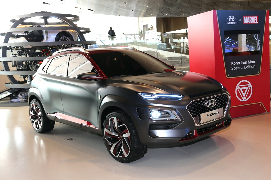 Hyundai Kona Iron Man Edition, dedicata all'uomo di ferro