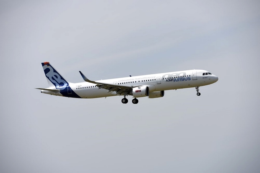 Motori360.it-Paris Air Show 2017-07-Airbus A321 Neo