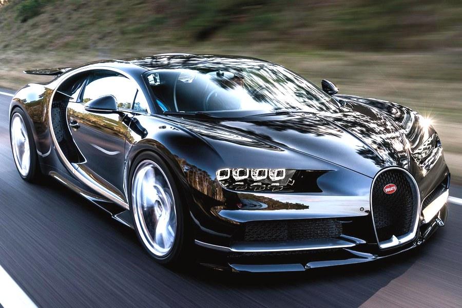 2017 Bugatti Chiron Driving