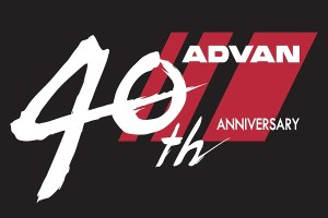 Logo 40th advan