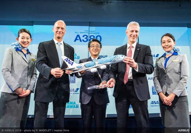 First-A380-ANA-MSN262-delivery-ceremony-