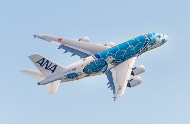 First-ANA-A380-in-flight