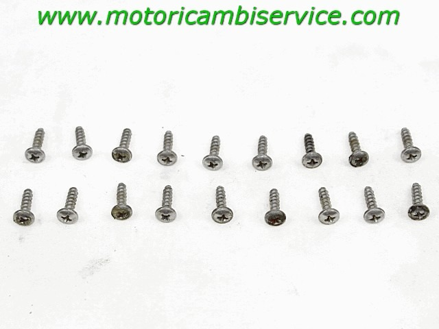 SET VITI CARENATURA SELLA APRILIA RST 1000 FUTURA 2001