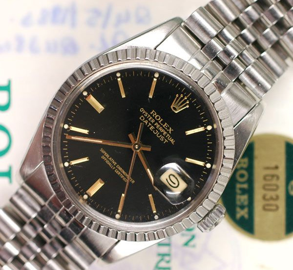 c1441636fa36a The Classic Rolex   Rolex Date-Just - Wednesday Watch