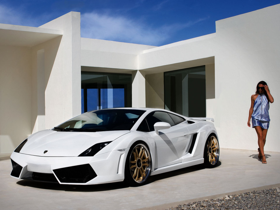Anderson Lamborghini Gallardo White Racing Edition
